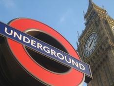 U Bahn in London